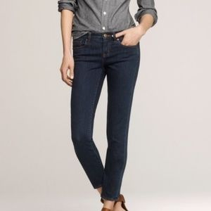 🌸J. Crew Stretch Toothpick Jeans Twilight Wash